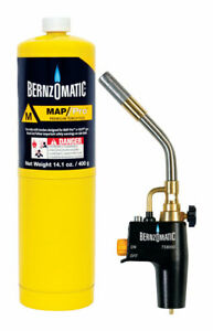 Map pro Torch Kit By Bernzomatic Mfrpartno 345372 Partno 345372 By Worthington