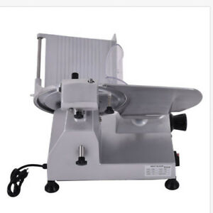 New Profetional 12 High efficiency Semi auto Commercial Thin Meat Slicer