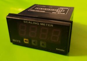 Dc Scaling Digital Panel Meter Autonics M4ys na 72x36mm Scaling Panel Meter