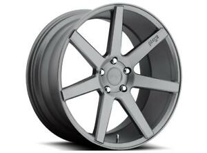 20 Niche Verona M149 Anthracite Staggered Wheels Fits Acura Ford Toyota Honda