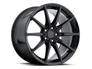19 Mrr M350 Staggered Full Gloss Black Wheels Rims 5x114 3 Fits Ford Mustang 20
