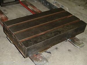 26 X 14 X 5 75 Steel Welding 3 T slotted Table Cast Iron Layout Plate