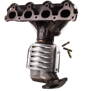New Catalytic Converter With Exhaust Manifold Fit 96 2000 Honda Civic 1 6l Front