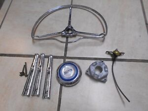 1951 Chrysler Windsor Horn Cap horn Ring Other Assorted Parts As Pictured