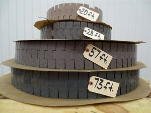 Table Top Conveyor Chain On Pallet 4 Wide 4 Pieces Sold As 1 Lot