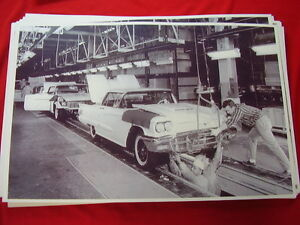 1959 Ford Thunderbird Assembly Line 11 X 17 Photo Picture
