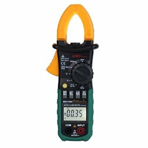 Aimo Ms2108a Auto Range Digital Clamp Meter 400 Ac Dc Current Hz Tester