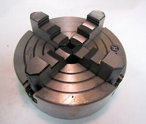 Unknown Brand 8 4 jaw Chuck For Metalworking Lathe New In Box