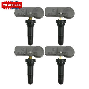 4 Pcs New Oem Tpms Tire Pressure Monitoring Sensors For Chevy Gmc 13581558