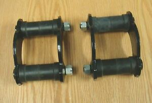 1955 Chevy Leaf Spring Shackle Kits New Pair