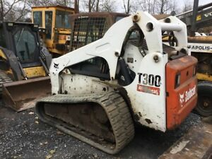 2007 Bobcat T300 Tracked Skid Steer Loader W cab Coming In Soon