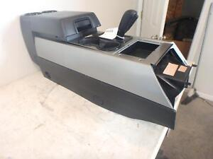 15 16 Ford Expedition Front Center Console Black Silver Automatic