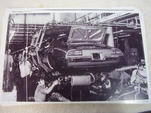1970 Pontiac Firebird Assembly Line Body Dropping 11 X 17 Photo Picture