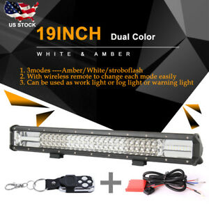 20 Inch 990w Led Work Light Bar Flood Spot Combo Offroad Driving Lamp Car Truck