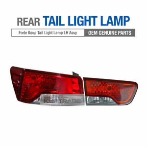 Oem Parts Rear Tail Light Lamp Left Assembly 2ea For Kia 2010 2013 Cerato Koup