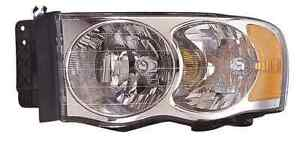 New Dodge Ram 1500 2500 3500 2002 2003 2004 2005 Left Driver Headlight Light