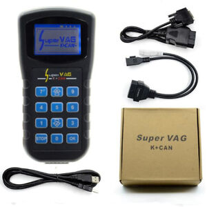 Super Vag Diagnostics Code Scanner K can Programming Tool For Vw Audi Obdii V4 8