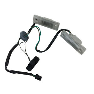 New Rear Trunk Release Switch W Licence Plate Lamp For Chevrolet Cruze Orlando