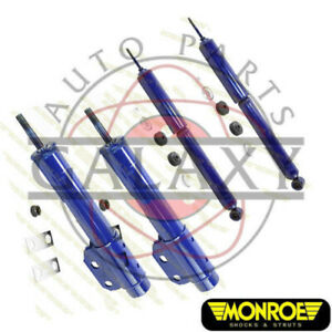 Monroe New Front Struts Rear Shocks For Ford Mustang 85 93