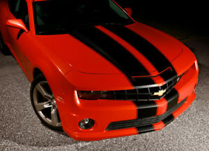 2010 2013 Chevy Camaro Rally Racing Tapered Stripes Decals Hood And Trunk Ss Rs