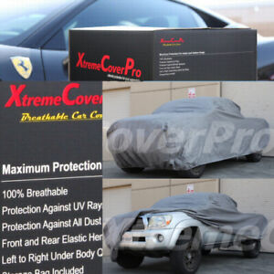 2013 Toyota Tacoma Double Cab 6ft Long Bed Breathable Car Cover