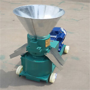 Chicken Duck Feed Pellet Mill Machine 380v 3kw Farm Animal Pellet Mill Machine