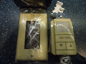 Nlight Wall Switch Passive Infrared Low Voltage Ivory Nwsx Pdt Lv Dx Iv
