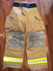 Firefighter Turnout Bunker Pants Globe 34x32 G Extreme Halloween Costume 2007