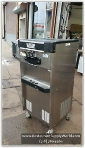 2008 Electrofreeze 2 flav Twist Ice cream Machinefm8 237 220v 60hz 1 ph Air cool