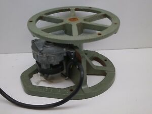 Yemco Young Electro Model 500 Motiondiser Display Turntable 250lbs Max 3rpm