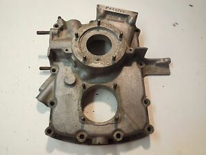 Porsche 356 A Engine Case 3rd Piece 63708 1956