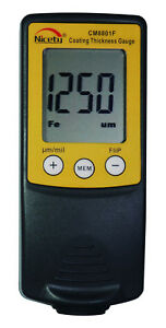 1pcs Cm8801f Digital Paint Coating Thickness Gauge Meter Tester 0 1000 m