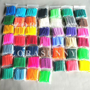50 Packs Ligature Ties 46 Colors For Chose Dental Orthodontics Elastic Bands