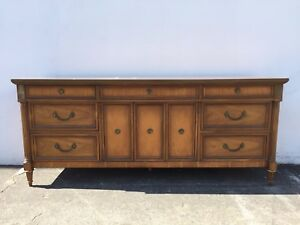 Dresser Antique Tv Stand Sideboard Cabinet Neoclassical Baroque Wood Console