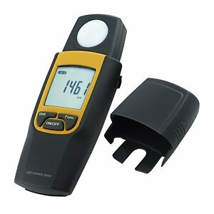 Handheld Lux Meter Digital Max Min Hold Function 30 000 Lux Ftc