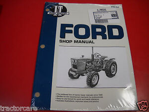 Ford Tractor I t Shop Service Manual 1100 1200 1300 1510 1700 1910 2110 Fo44