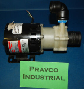 March Mfg Ac 2cp md Magnetic Drive Polypropylene Pump 220 240v 50 60hz Ac2cpmd