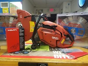 Hilti Dsh 700 x Demo Saw With 10 Blades