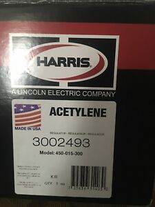 Harris 450 Oxygen Acetylene Or Lp Propane Regulator Heavy Duty