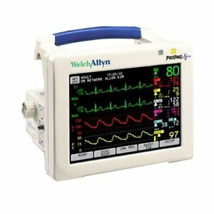 Welch Allyn Propaq Cs 242 8 4 Color Display Patient Monitor Adult 3 lead Ecg