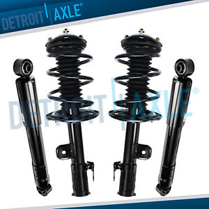 4pc Front Rear Quick Complete Struts Shocks For 06 12 Toyota Rav4 2 4l 2 5l