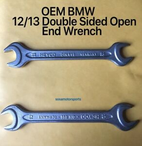Bmw Heyco Oem Double Sided Open End Spanner Wrench 12 13 Din 895