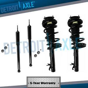 Front Strut W Springs Rear Shocks 2000 2002 2003 2004 2005 Ford Focus No Wagon