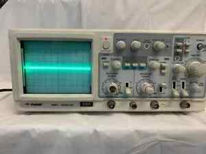Protek 6504 Oscilloscope 40mhz Fine Working