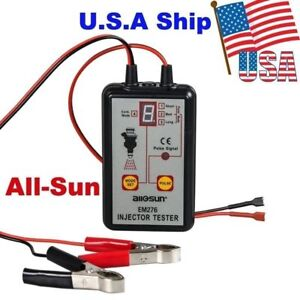 Usa Ship Em276 Injector Tester 4 Pluse Modes Powerful Fuel System Scanner Tool