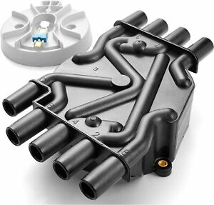 Ignition Distributor Cap And Rotor Kit For Chevy Gmc C1500 C2500 V8 5 0l 5 7l