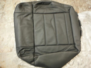 2008 Jeep Wrangler Unlimited Drivers Seat Cushion Black Leather Upholstery p026
