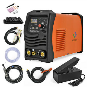 Ac Dc Tig Welder 200a 220v Pulse High Frequency Aluminium Welder Welding Machine