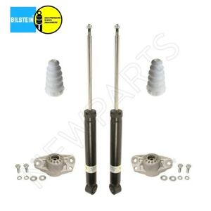 For Vw Cc Pair Set Of 2 Rear Shock Absorbers W Mounts Bumpers Bilstein B4