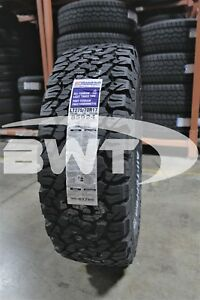 4 New Bf Goodrich All Terrain T A Ko2 121r Tires 2757017 275 70 17 27570r17